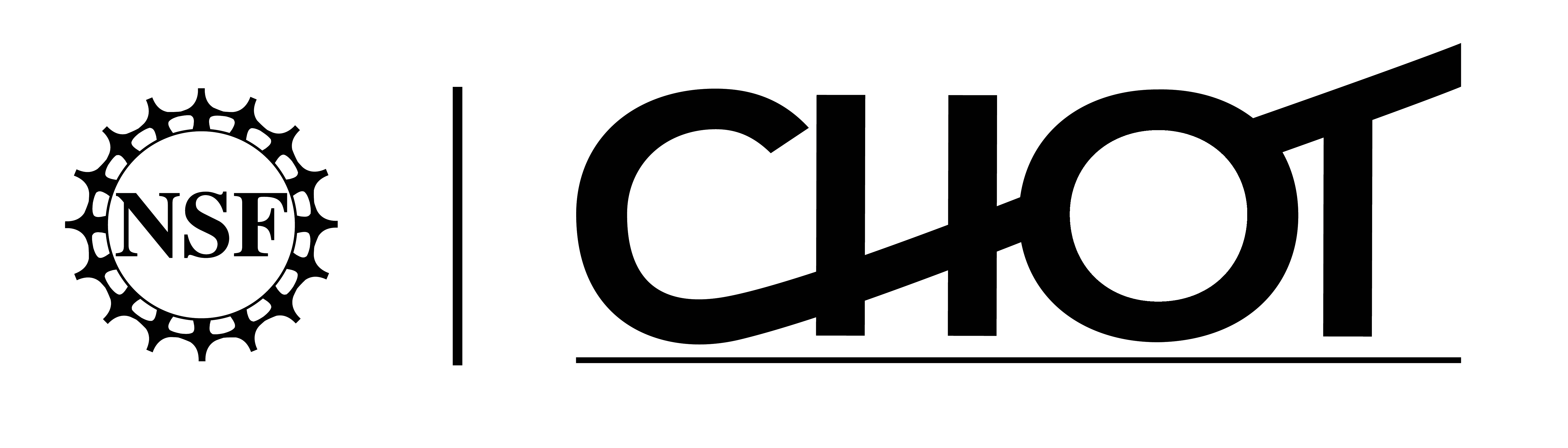 CHOT Logo - Black with Transparent Background