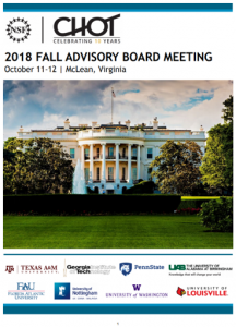 CHOT 2018-2019 FALL IAB Meeting Binder Cover