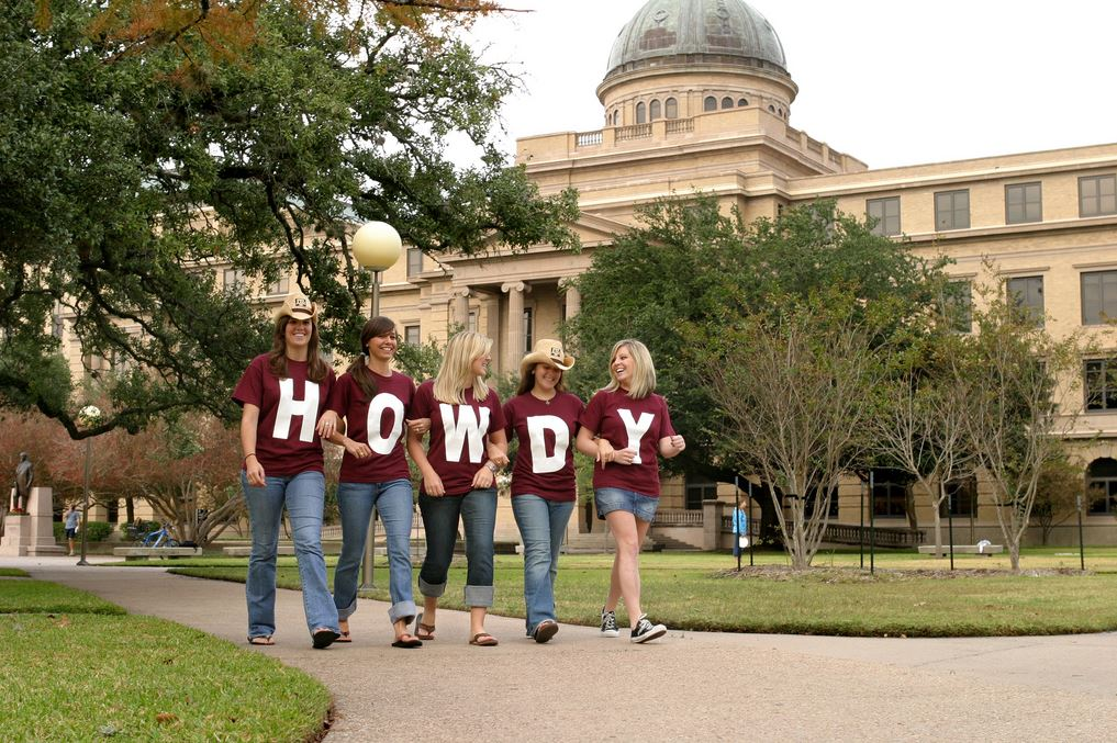 TAMU howdy photo stock