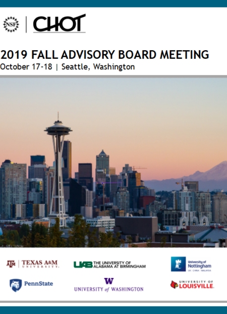 Fall 2019 Meeting Booklet Cover